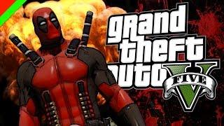 getlinkyoutube.com-Grand Theft Auto V - Deadpool ฮีโร่พันธ์ุเกรียน (GTA V Mod,ตลก,ฮา)