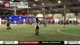 Estrellas vs Greenwood AKD Women Premier Soccer League