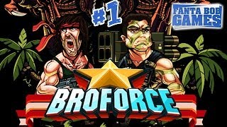getlinkyoutube.com-Fanta et Bob - BROFORCE - Ep.1 - [Brototype]