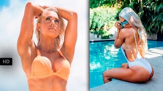 getlinkyoutube.com-LAUREN SIMPSON Fitness Model:Women's Workout Routine to Get Strong And Toned #Australia