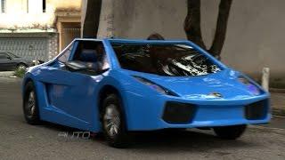 getlinkyoutube.com-Pai constrói Mini Lamborghini para o filho