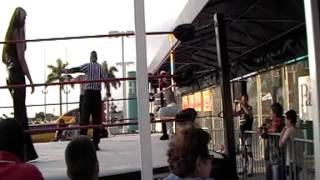 getlinkyoutube.com-CCW-Sean Phoenix & Scott Passion vs Isis The Amazon @ The Dolphin Stadium 12/5/08