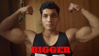 Bigger Arms Workout at Home -Bodyweight Bicep Workout in Hindi