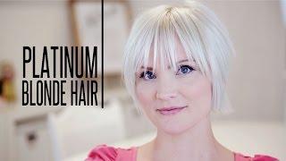 getlinkyoutube.com-How To Color Platinum Blonde Hair