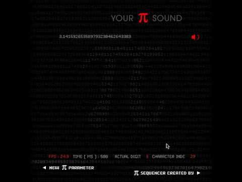 HOW DOES PI SOUNDS LIKE