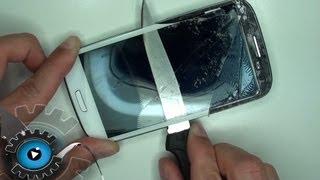 getlinkyoutube.com-Samsung Galaxy S3 Glas Wechseln Tauschen unter 20€ Reparieren [German/Deutsch][HD][HQ]Glass Repair