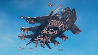 getlinkyoutube.com-INSANE SKY FORTRESS DLC! (Just Cause 3 Funny Moments)
