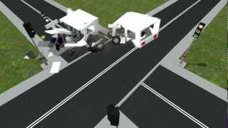getlinkyoutube.com-GMOD Car crash compilation 1
