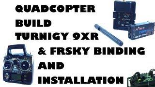 getlinkyoutube.com-Quadcopter build - Turnigy 9XR & FrSky binding and installation - eluminerRC