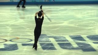 getlinkyoutube.com-Юзуру Ханю Yuzuru Hanyu тренировка ПП 14.02.2014