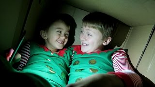 getlinkyoutube.com-MAILING MY KIDS IN A BOX!!