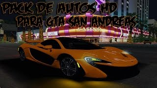 getlinkyoutube.com-Pack de Autos HD v1 para Gta San Andreas 2016