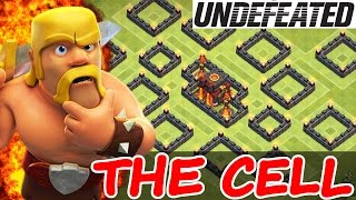 "getlinkyoutube.com-Clash Of Clans | ""THE CELL"" WEIRDEST TROLL BASE! 