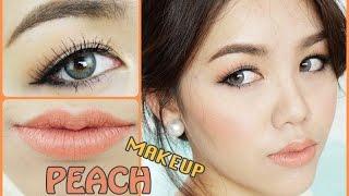 getlinkyoutube.com-How To : Peach Makeup  แต่งหน้าโทนสีพีช ไปงานง่ายๆ by Wonderpeach