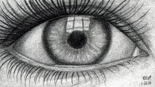 getlinkyoutube.com-How to Draw an Eye