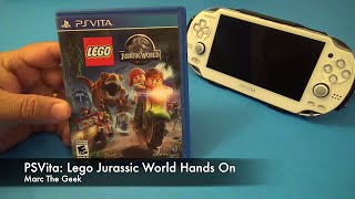 getlinkyoutube.com-PSVita: Lego Jurassic World Hands On