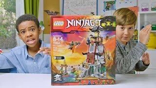 getlinkyoutube.com-NINJAGO - The Lighthouse Siege - LEGO Build Zone - Season 4 Episode 4