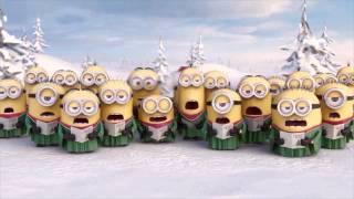 getlinkyoutube.com-Los Minions Feliz Navidad