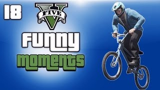 getlinkyoutube.com-GTA 5 Online Funny Moments Ep. 18 (BMX Flying Glitch)
