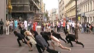getlinkyoutube.com-FLASHMOB SMOOTH CRIMINAL MOSCOW