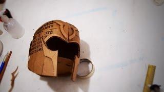 getlinkyoutube.com-#60: Magneto (DoFP) Helmet DIY Part 1 - Cardboard (template available) | How To | Dali DIY