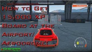 getlinkyoutube.com-How To Get 15,000 XP Board at Airport / Aerodrome - Forza Horizon 2 - Tutorial