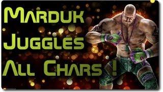 getlinkyoutube.com-TTT2: Marduk Combos w/ All Chars ! (Combo Suggestions) Part 1
