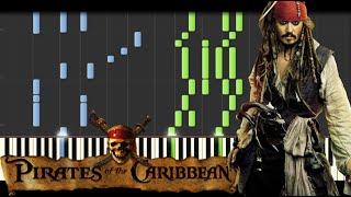 getlinkyoutube.com-Pirates of the Caribbean Medley [Piano Tutorial] (Synthesia) // Kyle Landry + SHEETS/MIDI