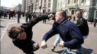 getlinkyoutube.com-Кавказцы против Байкеров !!!  Месиво с битами из за девушки !!!