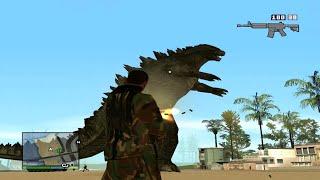 "MisteriX. - Grand Theft Auto San Andreas ""Godzilla"" (Odcinek 22) [HD]"