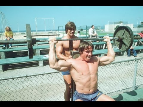 Documentary on Body Building with Arnold Schwarzenegger