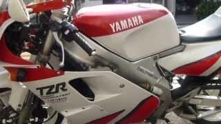 getlinkyoutube.com-エンジンフルオーバーホール直後のYAMAHA TZR250(3MA)INレーシングガレージイノウエ