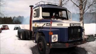 getlinkyoutube.com-Scania 140 Uppstart efter vintervila