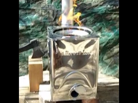 SilverFire Hunter Biomass TLUD Stove Review