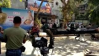 Shooting on mutunga with Raghav and dharmesh