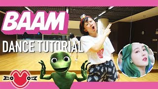 MOMOLAND(모모랜드) BAAM Dance Tutorial | Full w Mirror [Charissahoo]