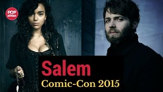 SDCC 2015: Ashley Madekwe e Seth Gabel de Salem