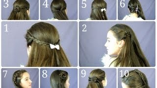 getlinkyoutube.com-10 Easy & Simple Half Up Hairstyles for Everyday