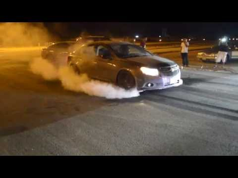 gray chevy cruze burnout _ برن اوت كروز