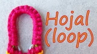 getlinkyoutube.com-Pulsera de Hilo: Hojal (loop)