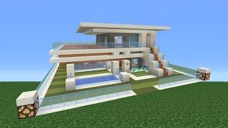 getlinkyoutube.com-Minecraft Tutorial: How To Make A Modern House