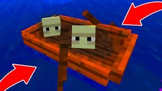 getlinkyoutube.com-This is REAL in Minecraft Pocket Edition!!! SHULKER BOX BOATS!