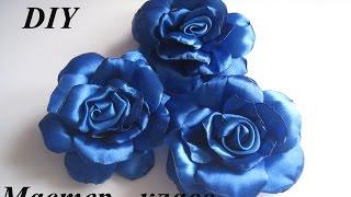 getlinkyoutube.com-Роза из атласной ленты. Как сделать розу из атласной ленты МК.DIY