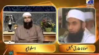 getlinkyoutube.com-Maulana Tariq Jameel live call on Geo tv with Junaid Jamshaid. Must listen