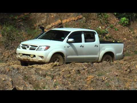 Imbak Canyon 4Wd Action 4x4 Stuck in Mud Sabah
