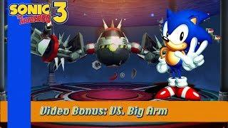 Video Bonus: Sonic the Hedgehog 3 - Vs. Big Arm (HD 1080p)