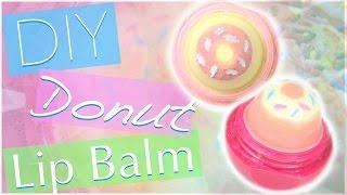 getlinkyoutube.com-DIY Donut EOS Lip Balm! | Cute EOS Design
