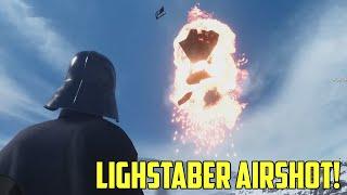 getlinkyoutube.com-Vader Vs. Snowspeeder Airshot! Stormtrooper.exe Not Responding! Star Wars Battlefront Beta