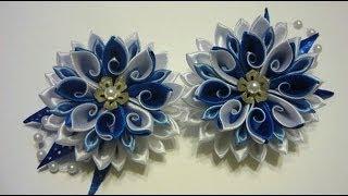 getlinkyoutube.com-Коллекция красивых цветов  канзаши***