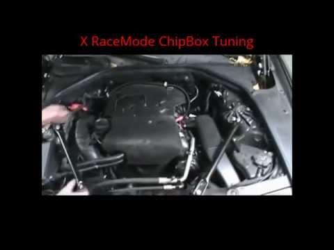 BMW X5 520 installation x RaceMode ChipBox Tuning